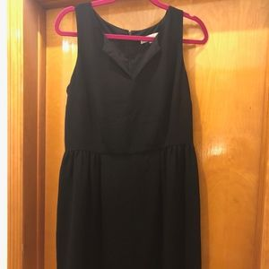 LOFT Flattering Black Dress